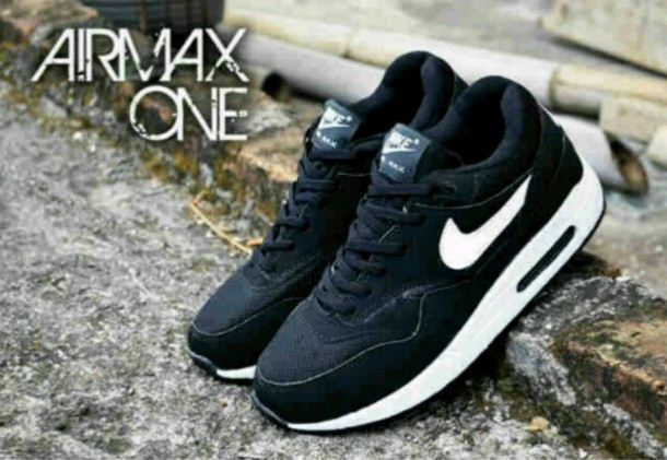 Nike-Airmax-One-Man-Black-White